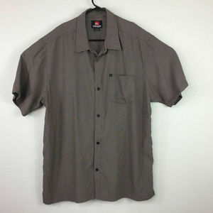 Quiksilver Short Sleeve Casual Button Up Shirt 2XL
